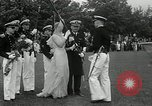 Image of Naval Academy Colors Presentation Annapolis Maryland USA, 1934, second 25 stock footage video 65675030595