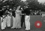 Image of Naval Academy Colors Presentation Annapolis Maryland USA, 1934, second 26 stock footage video 65675030595