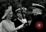 Image of Naval Academy Colors Presentation Annapolis Maryland USA, 1934, second 28 stock footage video 65675030595