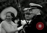 Image of Naval Academy Colors Presentation Annapolis Maryland USA, 1934, second 29 stock footage video 65675030595