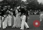 Image of Naval Academy Colors Presentation Annapolis Maryland USA, 1934, second 30 stock footage video 65675030595