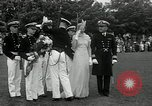 Image of Naval Academy Colors Presentation Annapolis Maryland USA, 1934, second 32 stock footage video 65675030595