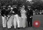 Image of Naval Academy Colors Presentation Annapolis Maryland USA, 1934, second 33 stock footage video 65675030595