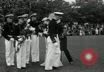 Image of Naval Academy Colors Presentation Annapolis Maryland USA, 1934, second 34 stock footage video 65675030595