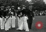 Image of Naval Academy Colors Presentation Annapolis Maryland USA, 1934, second 39 stock footage video 65675030595