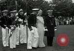 Image of Naval Academy Colors Presentation Annapolis Maryland USA, 1934, second 43 stock footage video 65675030595
