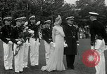 Image of Naval Academy Colors Presentation Annapolis Maryland USA, 1934, second 45 stock footage video 65675030595