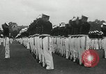 Image of Naval Academy Colors Presentation Annapolis Maryland USA, 1934, second 46 stock footage video 65675030595