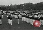 Image of Naval Academy Colors Presentation Annapolis Maryland USA, 1934, second 48 stock footage video 65675030595