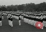 Image of Naval Academy Colors Presentation Annapolis Maryland USA, 1934, second 51 stock footage video 65675030595