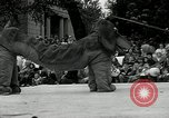 Image of circus performers Philadelphia Pennsylvania USA, 1934, second 47 stock footage video 65675030598