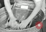 Image of Domestic chores without electricity Saint Clairsville Ohio USA, 1940, second 42 stock footage video 65675030602