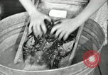 Image of Domestic chores without electricity Saint Clairsville Ohio USA, 1940, second 45 stock footage video 65675030602