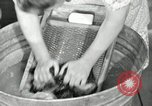 Image of Domestic chores without electricity Saint Clairsville Ohio USA, 1940, second 46 stock footage video 65675030602