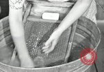 Image of Domestic chores without electricity Saint Clairsville Ohio USA, 1940, second 48 stock footage video 65675030602