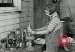 Image of Domestic chores without electricity Saint Clairsville Ohio USA, 1940, second 54 stock footage video 65675030602