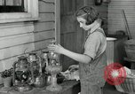 Image of Domestic chores without electricity Saint Clairsville Ohio USA, 1940, second 56 stock footage video 65675030602