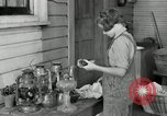 Image of Domestic chores without electricity Saint Clairsville Ohio USA, 1940, second 57 stock footage video 65675030602