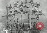 Image of rural family enjoying new benefits of electricity Saint Clairsville Ohio USA, 1940, second 24 stock footage video 65675030607