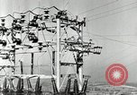 Image of rural family enjoying new benefits of electricity Saint Clairsville Ohio USA, 1940, second 27 stock footage video 65675030607
