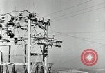 Image of rural family enjoying new benefits of electricity Saint Clairsville Ohio USA, 1940, second 28 stock footage video 65675030607