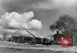 Image of rural family enjoying new benefits of electricity Saint Clairsville Ohio USA, 1940, second 55 stock footage video 65675030607