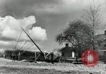Image of rural family enjoying new benefits of electricity Saint Clairsville Ohio USA, 1940, second 60 stock footage video 65675030607