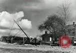 Image of rural family enjoying new benefits of electricity Saint Clairsville Ohio USA, 1940, second 61 stock footage video 65675030607