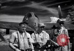 Image of P-38 planes of 80th fighter squadron Pacific Theater, 1944, second 42 stock footage video 65675030621