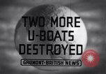 Image of Attack on German U-boat European theater, 1942, second 3 stock footage video 65675030630
