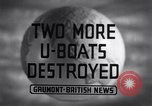 Image of Attack on German U-boat European theater, 1942, second 6 stock footage video 65675030630