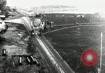 Image of German Officers and officials observe activities at test stand 10. Peenemunde Germany, 1943, second 1 stock footage video 65675030648