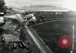 Image of German Officers and officials observe activities at test stand 10. Peenemunde Germany, 1943, second 3 stock footage video 65675030648