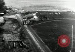 Image of German Officers and officials observe activities at test stand 10. Peenemunde Germany, 1943, second 4 stock footage video 65675030648
