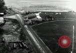 Image of German Officers and officials observe activities at test stand 10. Peenemunde Germany, 1943, second 5 stock footage video 65675030648