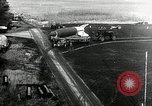 Image of German Officers and officials observe activities at test stand 10. Peenemunde Germany, 1943, second 6 stock footage video 65675030648