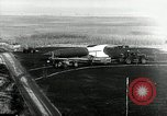 Image of German Officers and officials observe activities at test stand 10. Peenemunde Germany, 1943, second 11 stock footage video 65675030648
