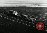 Image of German Officers and officials observe activities at test stand 10. Peenemunde Germany, 1943, second 52 stock footage video 65675030648