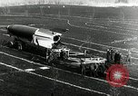 Image of German Officers and officials observe activities at test stand 10. Peenemunde Germany, 1943, second 60 stock footage video 65675030648