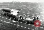 Image of German Officers and officials observe activities at test stand 10. Peenemunde Germany, 1943, second 61 stock footage video 65675030648