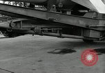 Image of Rocket on way to launch pad Peenemunde Germany, 1943, second 20 stock footage video 65675030650