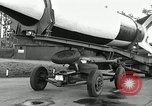 Image of Rocket on way to launch pad Peenemunde Germany, 1943, second 31 stock footage video 65675030650