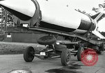 Image of Rocket on way to launch pad Peenemunde Germany, 1943, second 32 stock footage video 65675030650