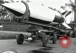 Image of Rocket on way to launch pad Peenemunde Germany, 1943, second 33 stock footage video 65675030650