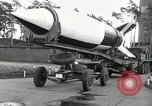 Image of Rocket on way to launch pad Peenemunde Germany, 1943, second 34 stock footage video 65675030650