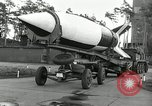 Image of Rocket on way to launch pad Peenemunde Germany, 1943, second 35 stock footage video 65675030650