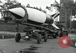 Image of Rocket on way to launch pad Peenemunde Germany, 1943, second 36 stock footage video 65675030650