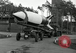 Image of Rocket on way to launch pad Peenemunde Germany, 1943, second 39 stock footage video 65675030650