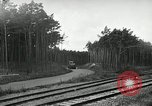 Image of Rocket on way to launch pad Peenemunde Germany, 1943, second 49 stock footage video 65675030650