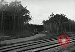 Image of Rocket on way to launch pad Peenemunde Germany, 1943, second 50 stock footage video 65675030650